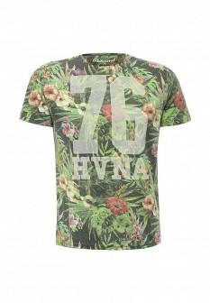 Мужская зеленая футболка E-BOUND