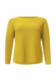 Женский желтый итальянский осенний джемпер