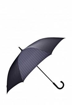 Женский синий осенний зонт Eleganzza