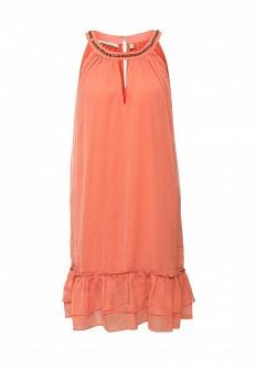 Коралловое платье emoi