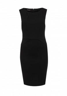 Черное осеннее платье emoi