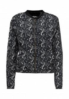 Женская белая черная куртка emoi