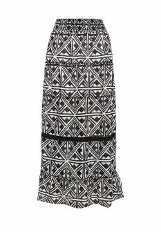 Белая черная юбка emoi