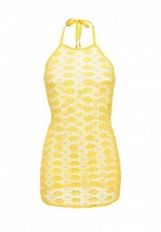 Желтое платье EMDI