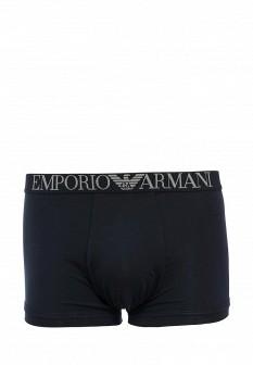 Мужские синие осенние трусы Emporio Armani