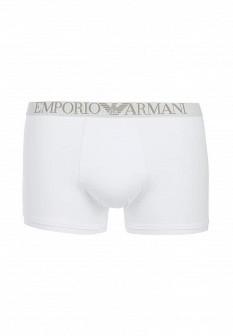Мужские белые осенние трусы Emporio Armani