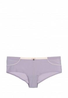 Женские фиолетовые трусы Emporio Armani