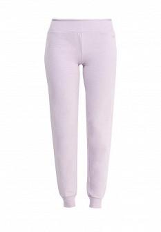 Женские осенние сиреневые брюки