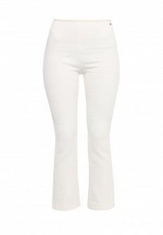 Женские белые молочные брюки