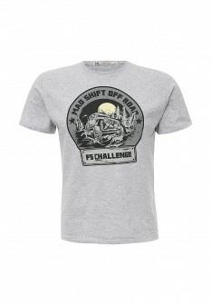 Мужская серая футболка F5