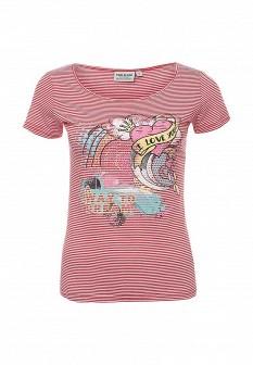 Женская розовая футболка Finn Flare