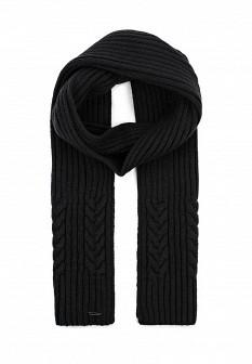 Мужской черный осенний шарф Finn Flare