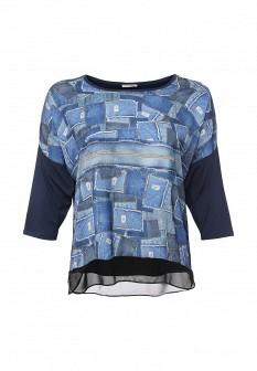 Синяя блузка Fiorella Rubino