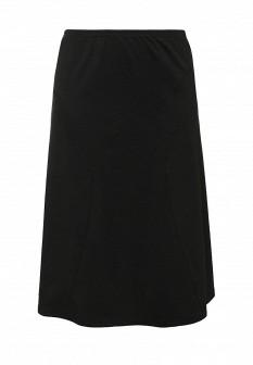Черная осенняя юбка Fiorella Rubino