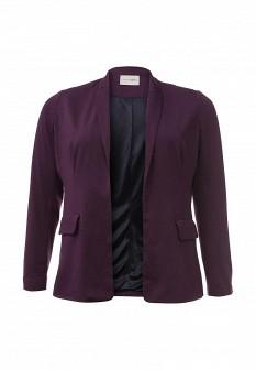 Женский фиолетовый осенний жакет