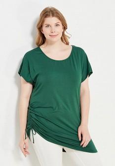 Женская зеленая итальянская футболка