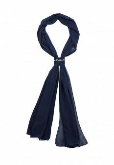 Женский синий шарф Fiorella Rubino