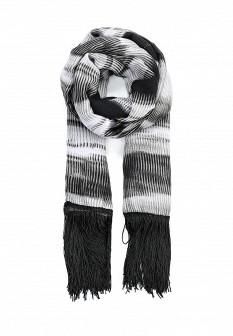 Женский серый шарф Fiorella Rubino