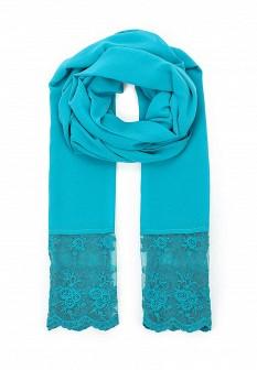 Женский бирюзовый шарф