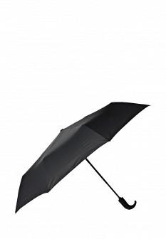 Мужской черный осенний зонт