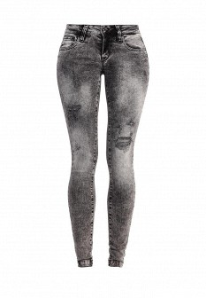 Женские серые итальянские джинсы
