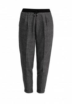 Женские серые осенние брюки Fornarina