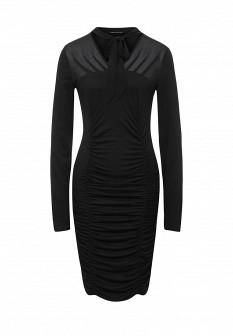 Черное итальянское платье