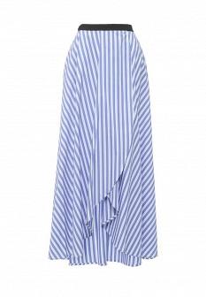 Синяя итальянская юбка