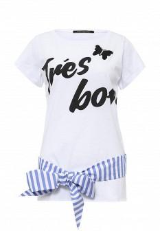 Женская белая итальянская футболка