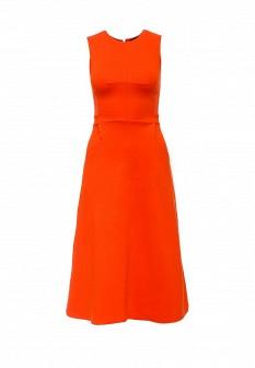 Оранжевое платье FRENCH CONNECTION