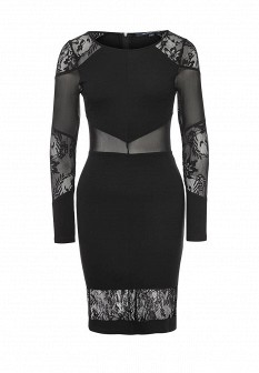 Черное платье FRENCH CONNECTION