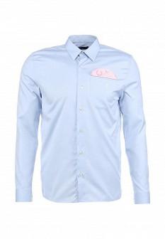 Мужская голубая рубашка Fred Perry
