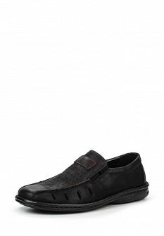 Мужские черные туфли Francesco Donni