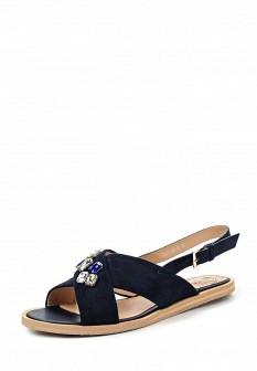 Женские синие сандалии Francesco Donni