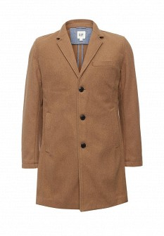 Мужское коричневое осеннее пальто
