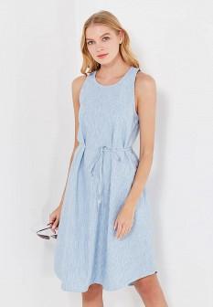 Голубое джинсовое платье GAP