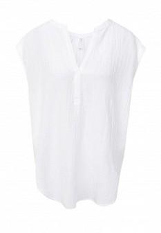 Женская белая домашняя футболка