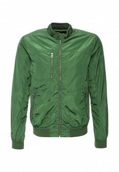 Мужская зеленая осенняя куртка