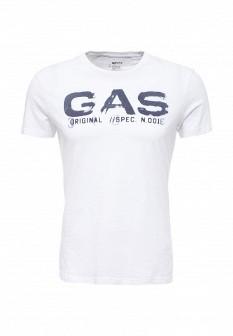 Мужская белая футболка GAS
