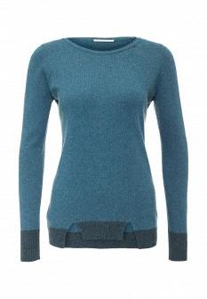 Женский бирюзовый итальянский осенний свитер