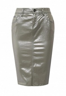 Зеленая осенняя юбка GAS