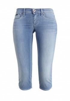 Женские голубые осенние джинсовые шорты