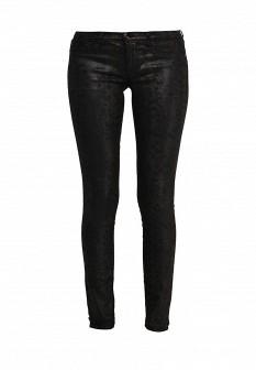 Женские коричневые джинсы