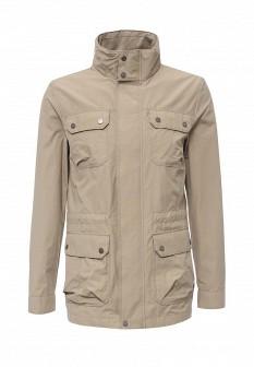 Мужская бежевая осенняя куртка