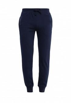 Мужские синие осенние спортивные брюки