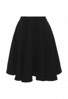 Черная осенняя юбка Gloss