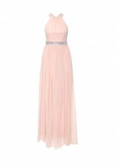 Розовое платье Goddiva