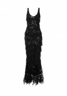 Черное платье Goddiva