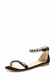 Женские черные сандалии Grand Style