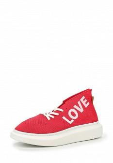 Женские красные коралловые кроссовки
